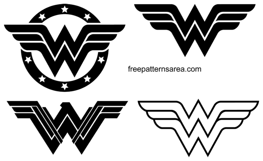 Wonder woman logo png symbol and