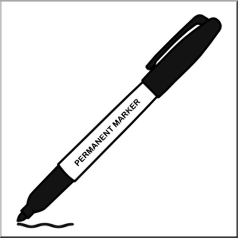 Writing clipart marker