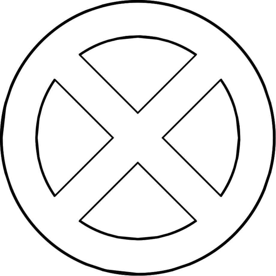 X-men logo symbol filex