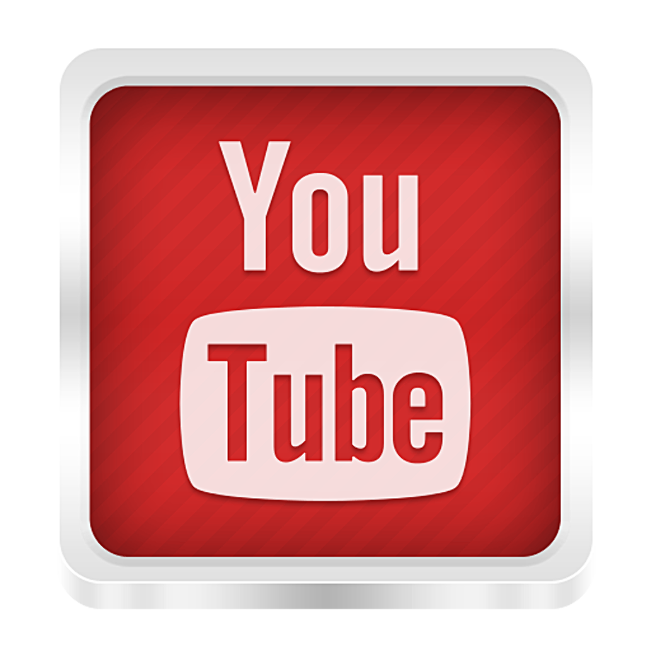You tube logo high resolution png