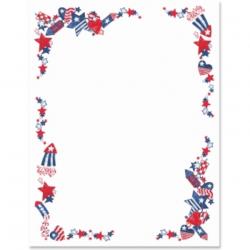 4th of july clip art border