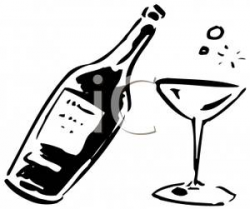 alcohol clipart champagne