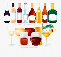 drink clipart alcohol drawing glass