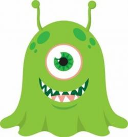 monster clipart alien