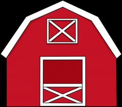 barn clipart open door