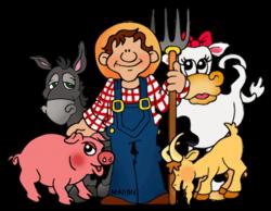 People clipart farmer