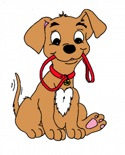 Dog clipart animated