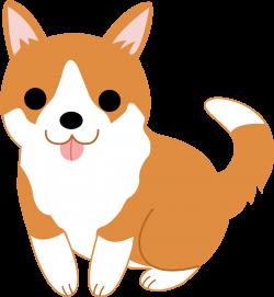 clipart dog cute