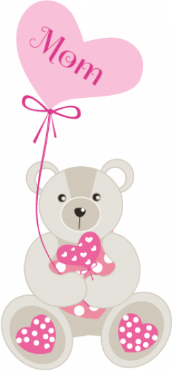mothers day clipart teddy bear
