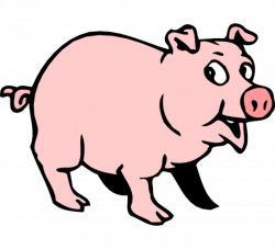 Animal clipart hog