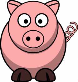 pig clipart animated