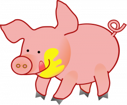 Animal clipart pink
