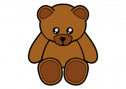 Animal clipart teddy bear