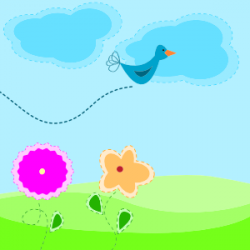 spring clipart animated
