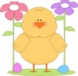chick clipart spring