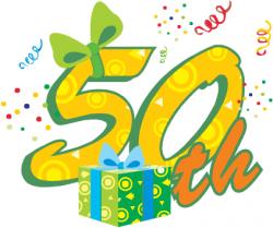 birthday clipart free 50th