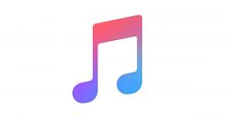 apple music logo clipart itunes