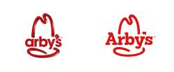 arbys logo font