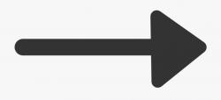 arrow transparent black