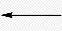 arrow transparent thin