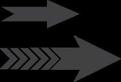 arrow transparent vector