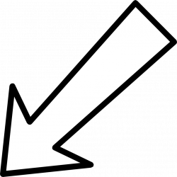 transparent arrow diagonal