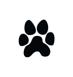 paw prints clipart jaguar