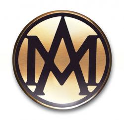 aston martin logo dark
