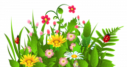 garden clipart cute