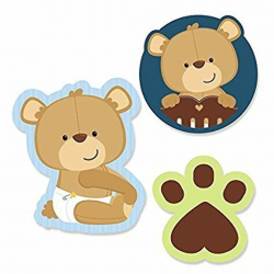 baby boy clipart teddy bear