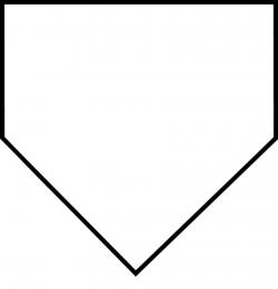 baseball diamond clipart white