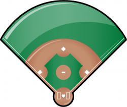 baseball diamond clipart transparent background
