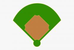 baseball diamond clipart blue