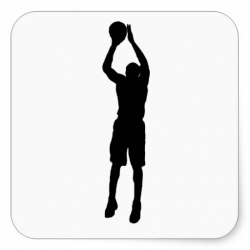 basketball clipart shooting