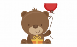 bear clipart birthday