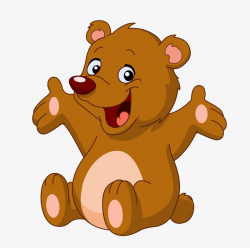 bear clipart happy