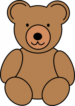 teddy bear clipart simple