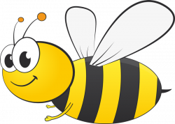bee clipart simple