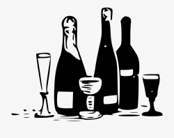 alcohol clipart white