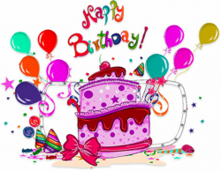 birthday clipart happy