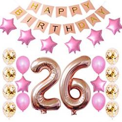 birthday clipart free 26th