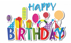 happy birthday clipart free 12