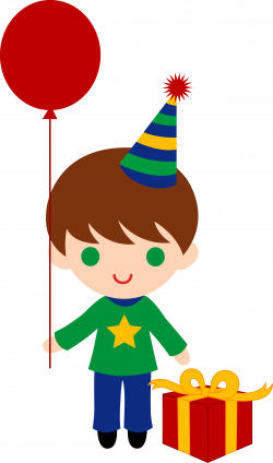 birthday hat clipart boy