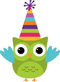owl clipart birthday