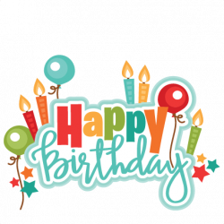 happy birthday clipart