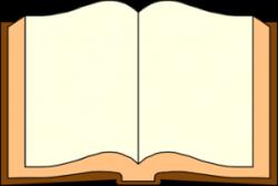 books clip art open