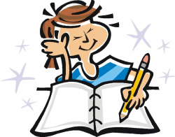 books clipart writing