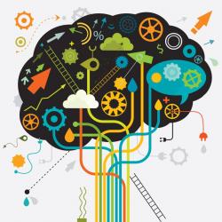 brain clipart creative