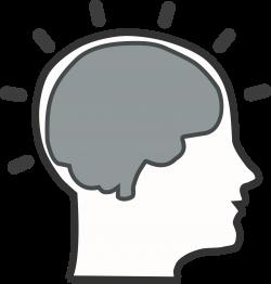 head clipart brain