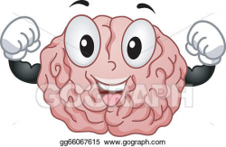 brain clipart strong